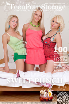 TeenPornStorage - Nena, Nicol & Karina - Sweet Punch