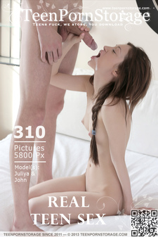 TeenPornStorage - Juliya & John - Real Teen Sex