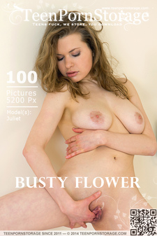 TeenPornStorage - Juliet - Busty Flower