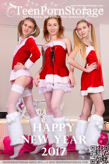 Teen Porn Storage - Ivanka & Twinkle & Alisekis - Happy New Year 2017