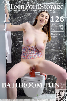 Teen Porn Storage - Clary - Bathroom Fun